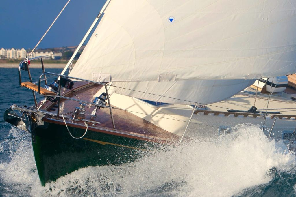 The two headsails of a cutter rig offer many advantages over a sloop rig