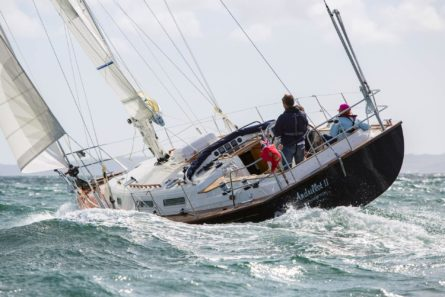 Rustler 37 - a very relaxing boat to sail